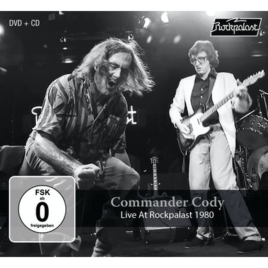 COMMANDER CODY LIVE AT ROCKPALAST 1980 CD