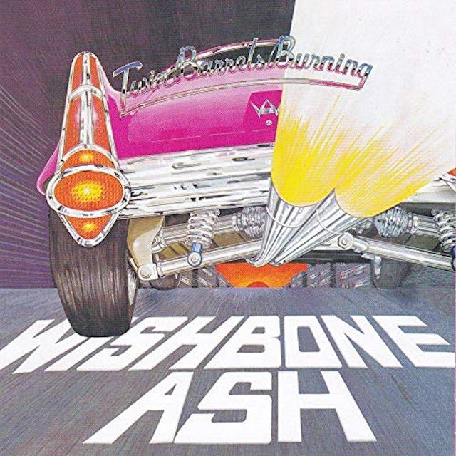 Wishbone Ash TWIN BARRELS BURNING CD