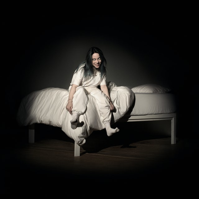 Image result for billie eilish When We All Fall Asleep, Where Do We Go?'