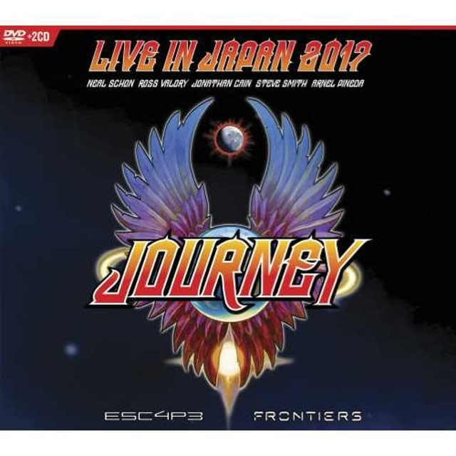 Journey ESCAPE & FRONTIERS LIVE IN JAPAN CD