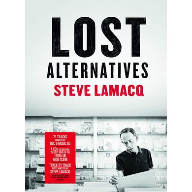 STEVE LAMACQ: LOST ALTERNATIVES / VARIOUS CD