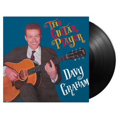 Davy Graham THE GUITAR PLAYER Vinyl Record
