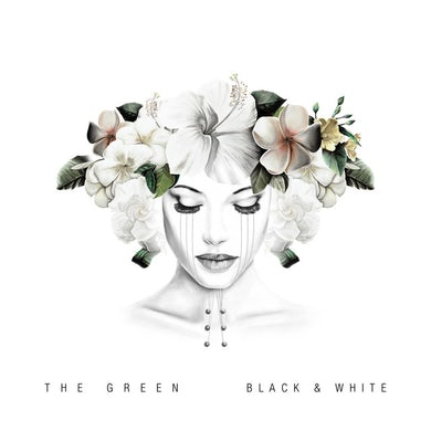 Green  BLACK & WHITE Vinyl Record