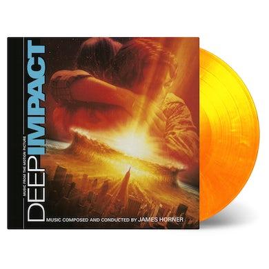 James Horner DEEP IMPACT / Original Soundtrack Vinyl Record