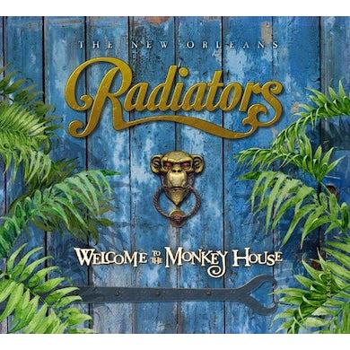 Radiators WELCOME TO THE MONKEY HOUSE Vinyl Record