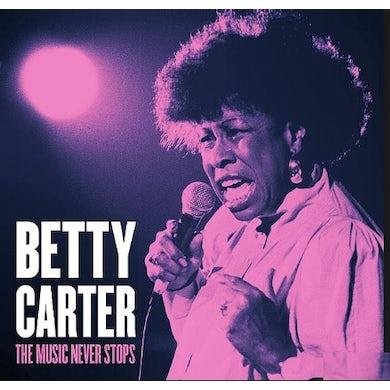 Betty Carter MUSIC NEVER STOPS CD