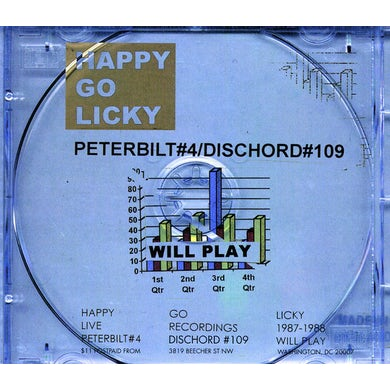 Happy Go Licky WILL PLAY CD