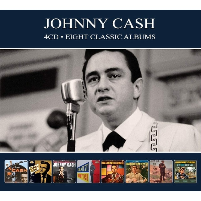 Johnny Cash 8 CLASSIC ALBUMS CD
