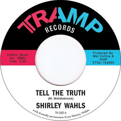Shirley Wahls TELL THE TRUTH Vinyl Record