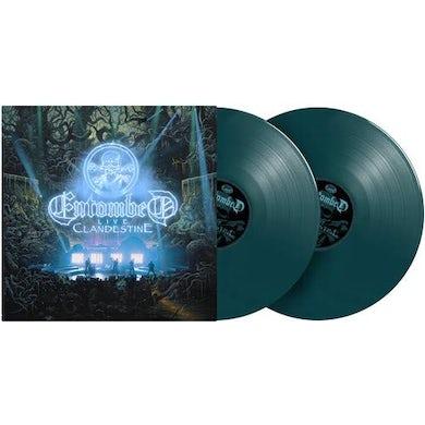 Entombed CLANDESTINE - LIVE Vinyl Record