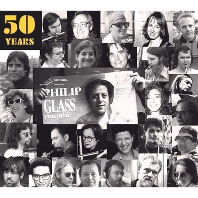 50 YEARS OF THE PHILIP GLASS ENSEMBLE CD