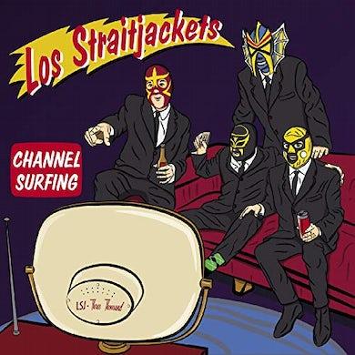 Los Straitjackets CHANNEL SURFING Vinyl Record