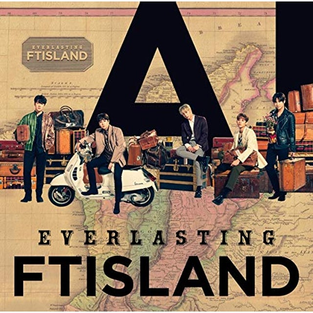 FTISLAND EVERLASTING (VERSION B) CD