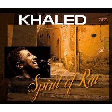 Khaled SPIRIT OF RAI CD