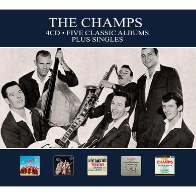 The Champs 5 CLASSIC ALBUMS PLUS SINGLES CD