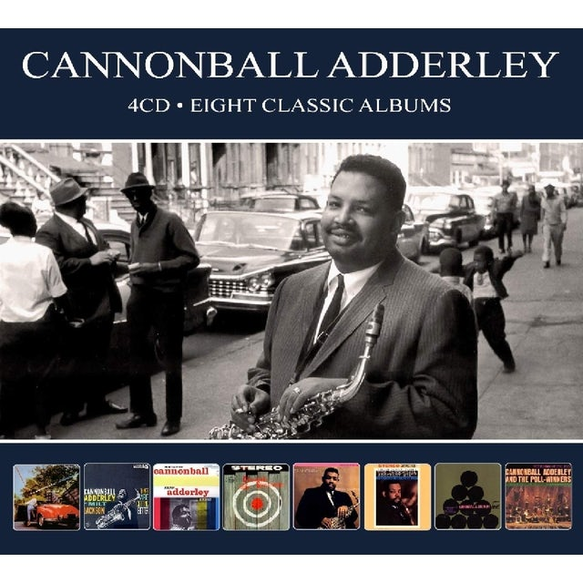 Cannonball Adderley 8 CLASSIC ALBUMS CD