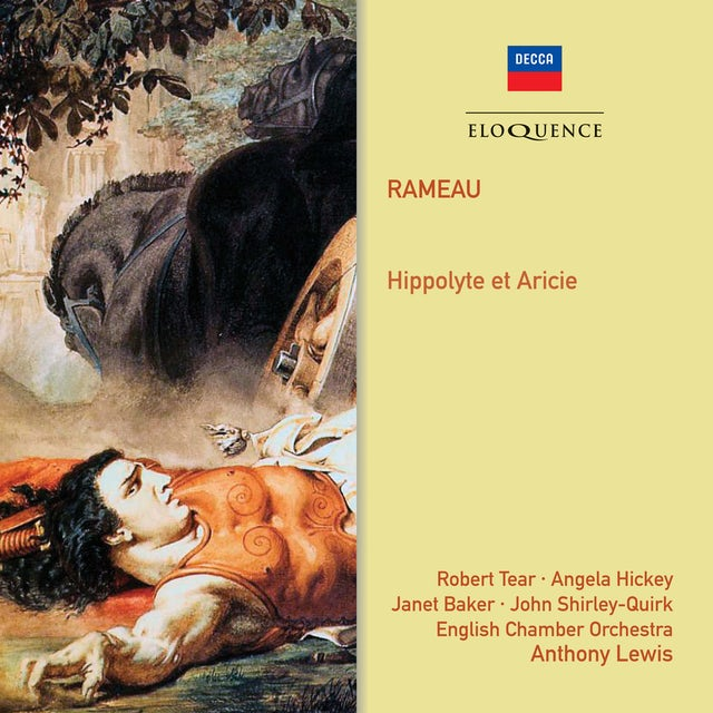 Anthony Lewis RAMEAU: HIPPOLYTE ET ARICIE CD