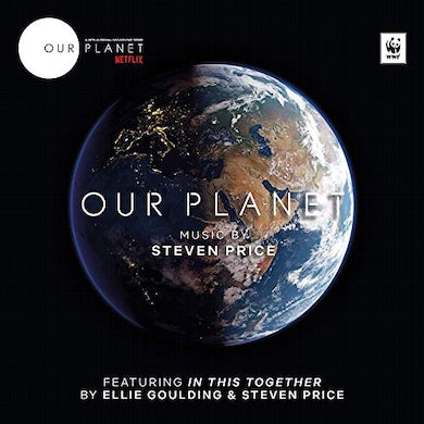 Steven Price OUR PLANET CD