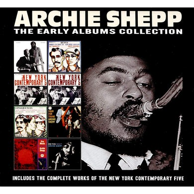 Archie Shepp EARLY ALBUMS COLLECTION CD