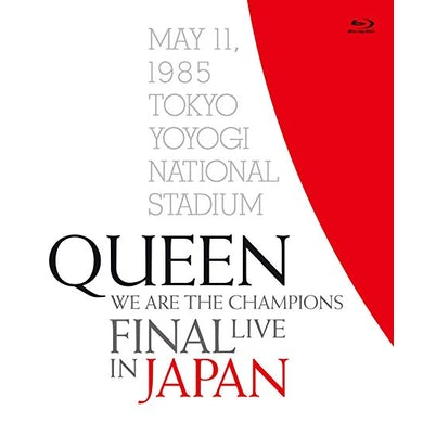 Queen WE ARE THE CHAMPIONS FINAL LIVE IN JAPAN Blu-ray