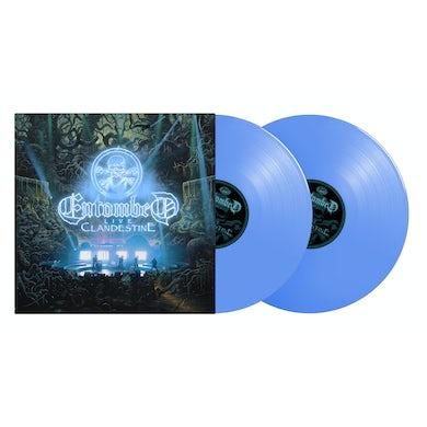 Entombed CLANDESTINE LIVE Vinyl Record