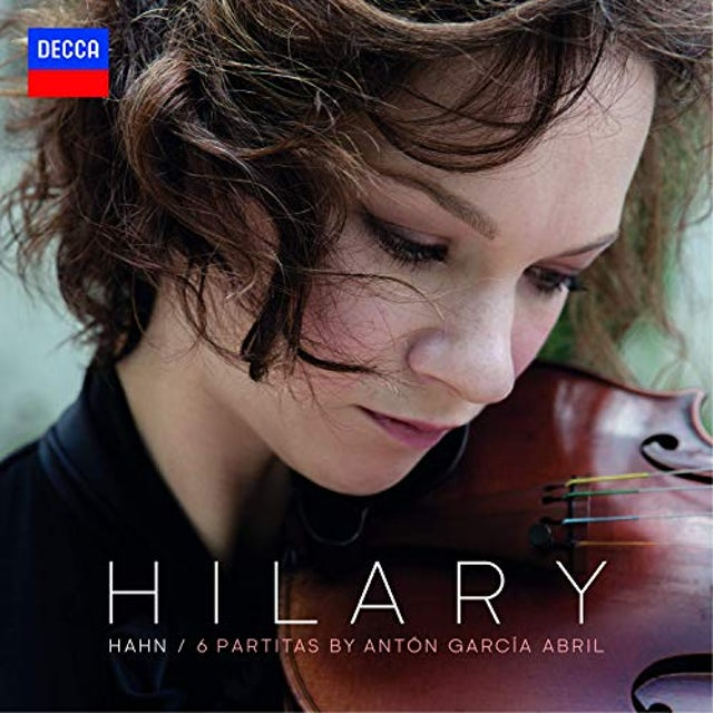 Hilary Hahn GARCIA ABRIL: 6 PARTITAS Vinyl Record