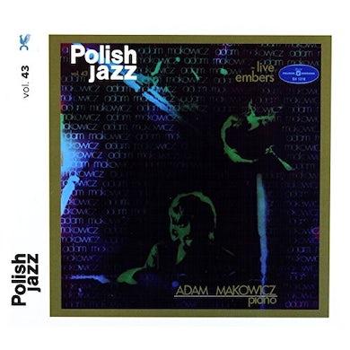 Adam Makowicz LIVE EMBERS (POLISH JAZZ) CD