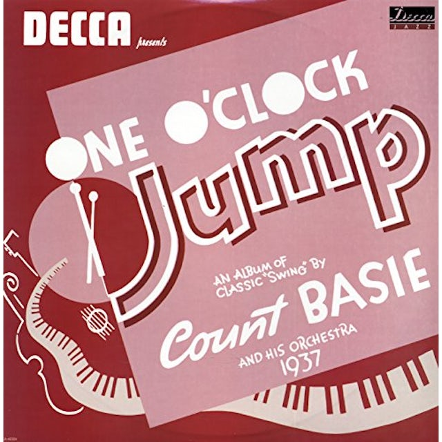 Count Basie ONE O'CLOCK JUMP Vinyl Record
