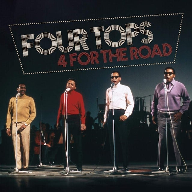 Four Tops 4 FOR THE ROAD CD