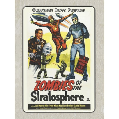 ZOMBIES OF THE STRATOSPHERE (1952) DVD