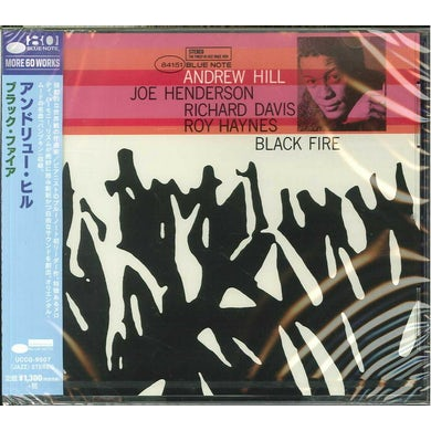 Andrew Hill BLACK FIRE CD