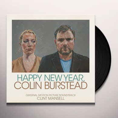 Clint Mansell HAPPY NEW YEAR COLIN BURSTEAD / Original Soundtrack Vinyl Record