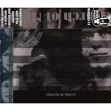 Church Of Misery SECOND COMING CD