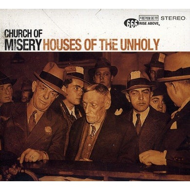 Church Of Misery HOUSES OF THE UNHOLY CD