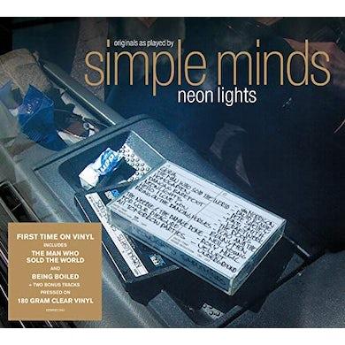Simple Minds NEON LIGHTS Vinyl Record