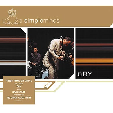 Simple Minds CRY Vinyl Record