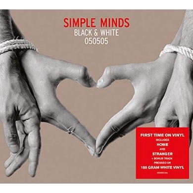 Simple Minds BLACK & WHITE 050505 Vinyl Record