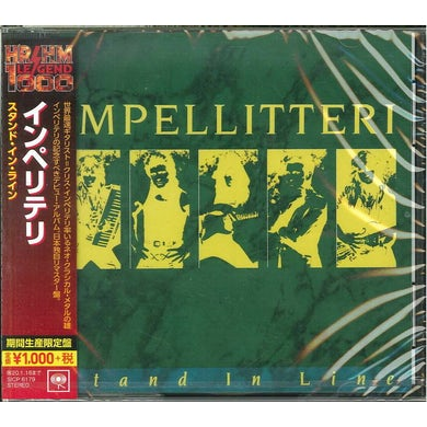 Impellitteri STAND IN LINE CD