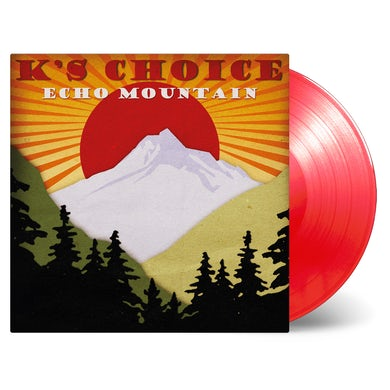 ECHO MOUNTAIN (LIMITED TRANSPARENT RED/180G) Vinyl Record