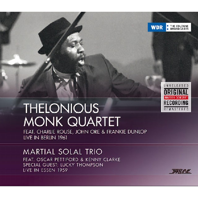 Thelonious Monk / Martial Solal Trio LIVE IN BERLIN 1961 / LIVE IN ESSEN 1959 CD