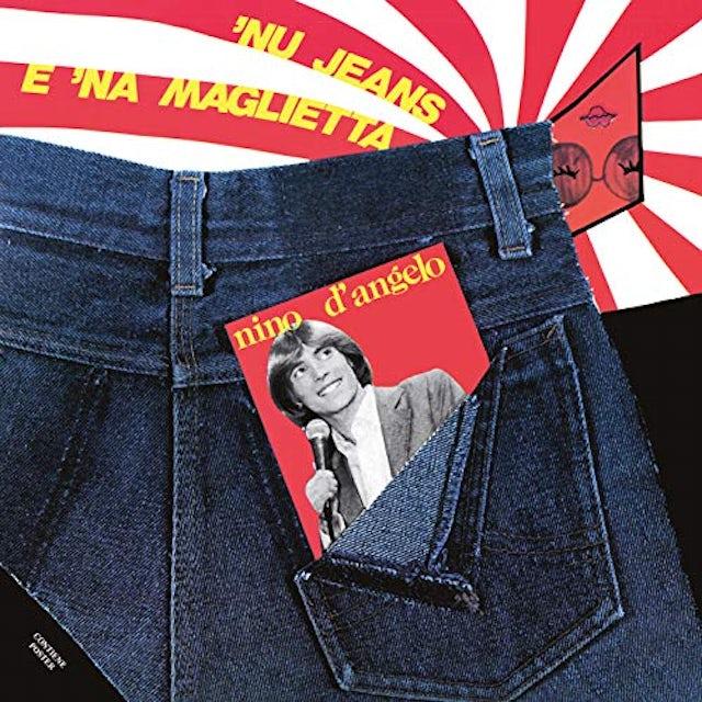 Nino D'angelo NU JEANS E NA MAGLIETTA Vinyl Record