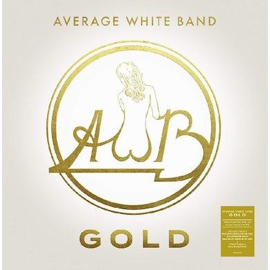 Average White Band GOLD Vinyl Record