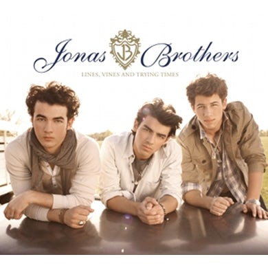Jonas Brothers LINES VINES & TRYING TIMES CD