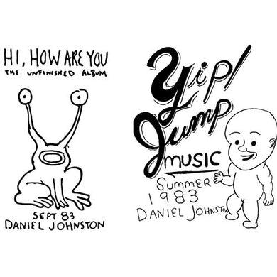 Daniel Johnston HI HOW ARE YOU - YIP / JUMP MUSIC Vinyl Record