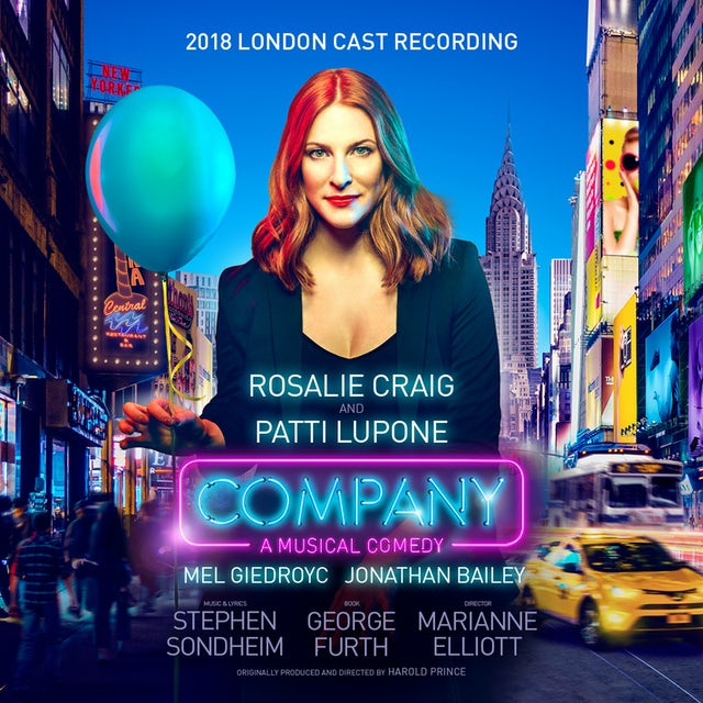 Stephen Sondheim COMPANY (2018 LONDON CAST RECORDING) CD