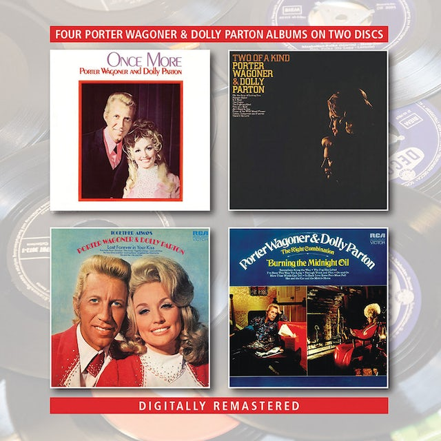 Porter Wagoner / Dolly Parton ONCE MORE / TWO OF A KIND / TOGETHER ALWAYS CD