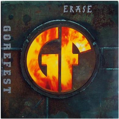 ERASE (GRAY W/ ORANGE/YELLOW SPLATTER/140G) Vinyl Record