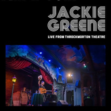 Jackie Greene LIVE FROM THROCKMORTON THEATRE CD