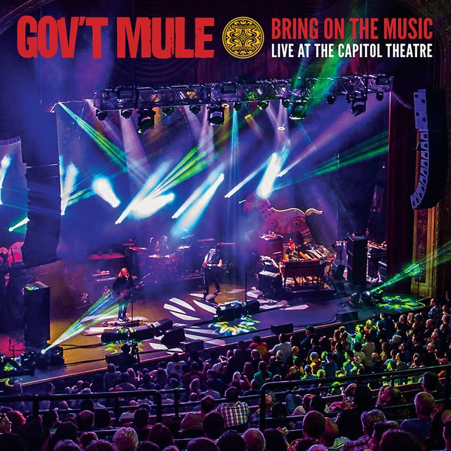 Govt Mule BRING ON THE MUSIC - LIVE AT THE CAPITOL THEATRE CD