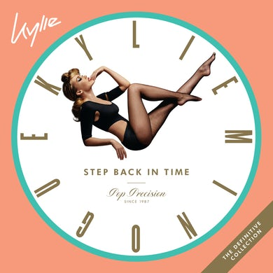 Kylie Minogue STEP BACK IN TIME: THE DEFINITIVE COLLECTION Vinyl Record